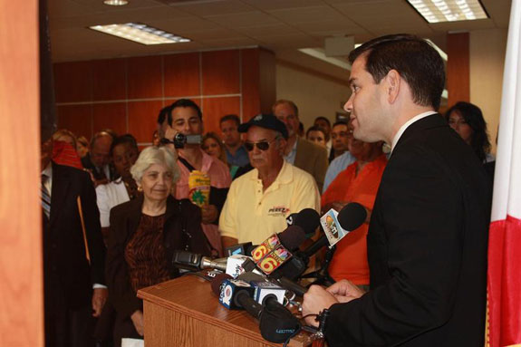 Sen. Marco Rubio released his immigration plans. (Photo courtesy of Marco Rubio.)