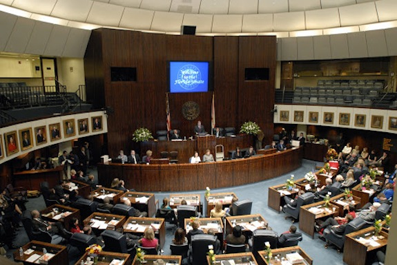 The Florida Senate passed a bill that will allow the winner of this year's gubernatorial election stack the Florida Supreme Court. (Photo from FlSenate.gov)