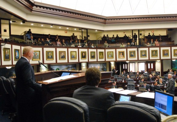 The Florida Legislature approved a ballot measure this week for 2014 that will allow the winner of this year's gubernatorial election stack the Florida Supreme Court. (Photo via MyFloridahouse.gov)