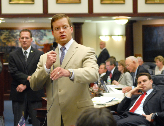 Gov. Rick Scott appoints former state lawmaker Carlos Lopez Cantera to be his new lieutenant governor. (Photo via Myfloridahouse.gov)