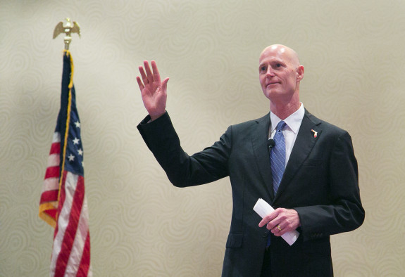 Gov. Rick Scott is expected to sign into law  legislation aimed at further expanding Florida's self-defense laws. (Photo via FLGov.com)