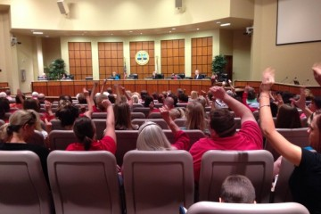 Lee County becomes first Florida district to opt-out of state-mandated standardized testing. (Photo by Ashley Lopez)