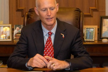 Gov. Rick Scott vetoed more than $427 million from the state budget. (Photo courtesy of Rick Scott.)