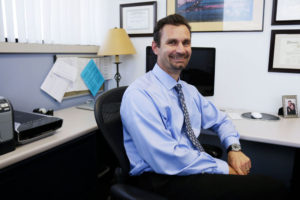 Todd Vanderah, the Department Head and Professor of Pharmacology and Anesthesiology at the University of Arizona, is conducting research looking into cannabinoids, one of them being its affect on breast cancer cells.  (Photo by Alex Ard/News21.)
