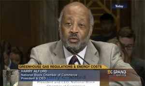 Harry C. Alford has testified before the U.S. Congress more than 16 times. (Photo: C-SPAN.)